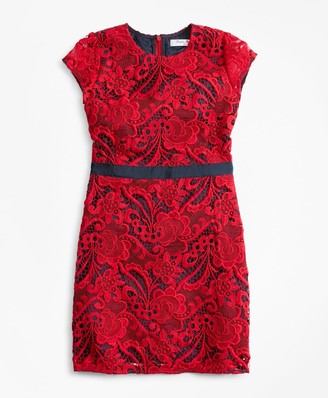 Brooks Brothers Girls Lace Dress
