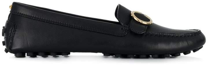 Salvatore Ferragamo front buckle loafers