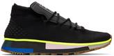 Adidas Originals By Alexander Wang Black Aw Run Mid Sneakers