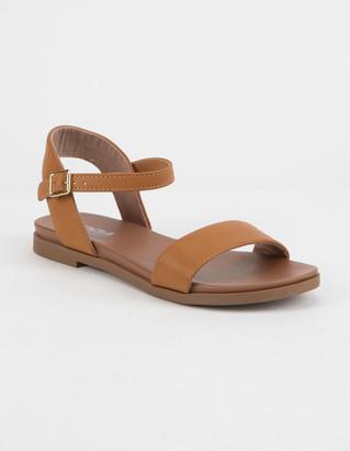 Soda Sunglasses Comfy Meadow Tan Womens Sandals