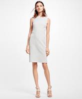 Brooks Brothers Positive-Negative Pastel Polka Dot A-Line Dress