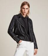 AllSaints Conroy Leather Biker Jacket