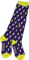 Neon Eaters Girls Knee High Socks - Bolts - Funky, Derby, Softball, Soccer, Socks