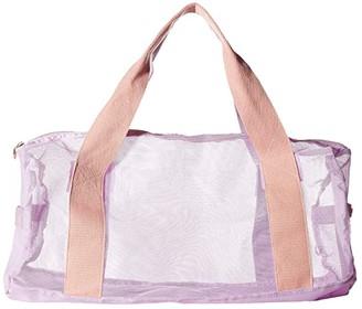 ban.do Work It Out Mesh Gym Bag (Take Care) Duffel Bags