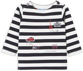 Jacadi Unisex Striped & Embroidered Tee