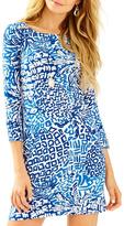 Lilly Pulitzer Geometric Pineapple Print Dress