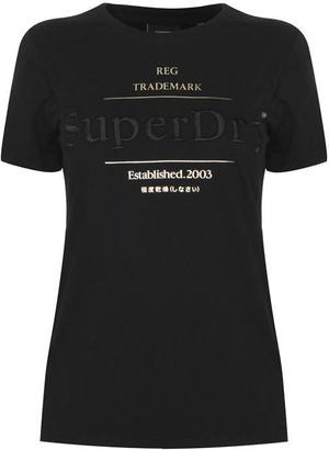 Superdry Established T Shirt
