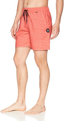 Hurley Men's Heather Textured Volley Swim Board Short