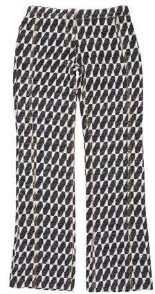 Derek Lam Patterned Low-Rise Pants w/ Tags