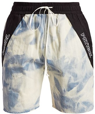Daniel Patrick Cloud Denim Gym Shorts