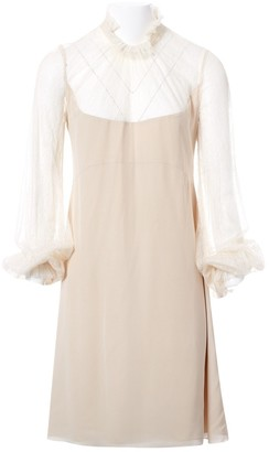 Vilshenko Beige Silk Dresses