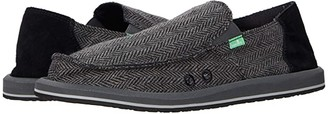 Sanuk Vagabond Tweed (Brown) Men's Shoes