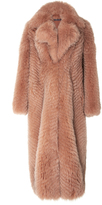 Zeynep Arcay Long Fox Fur Coat