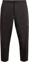 Y-3 Lux dropped-crotch track pants