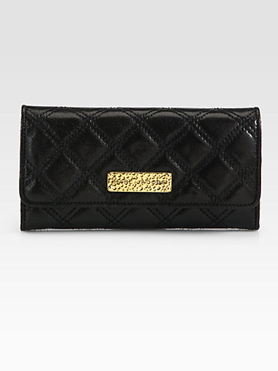 Marc Jacobs Baroque Quilted Continental Wallet