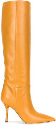 Paris Texas Mama Calf Boot in Caramello | FWRD