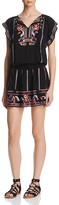 Parker Dean Embroidered Dress