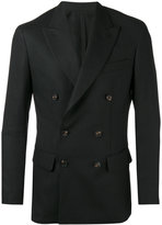 Umit Benan double-breasted blazer - men - Ramie/Cupro/Viscose - 46