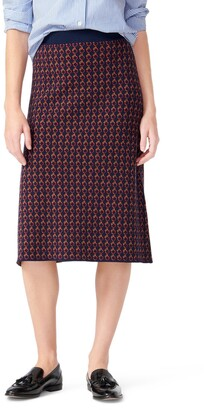 J.Crew Midi Sweater Skirt