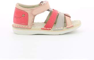 Kickers Woopy Leather Sandals