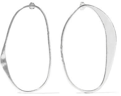 Simon Miller Arp Sterling Silver Hoop Earrings - one size