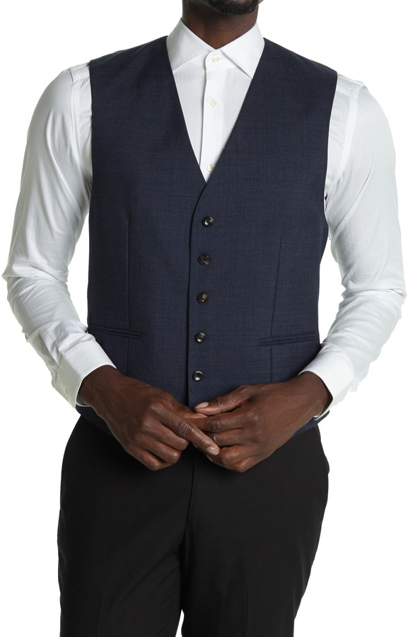 Reiss Terrance Slim Fit Waistcoat Vest