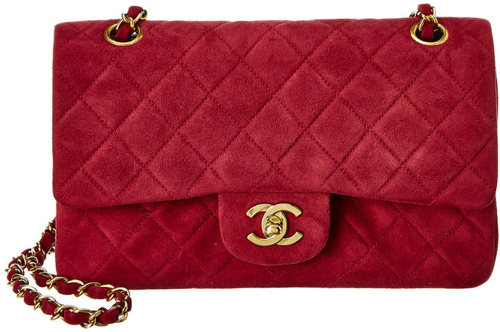 Chanel Flap Bag Red Style