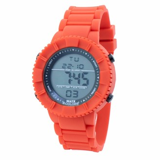 Watx Digital Quartz Watch with Rubber Strap RWA1705-C1772