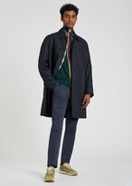 Thumbnail for your product : Paul Smith Men's Dark Navy Water-Resistant Cotton Mac
