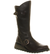 Fly London Mes Wedge Calf Boots