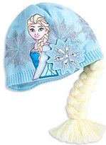Disney Frozen Winter Hat with Braid - Personalizable