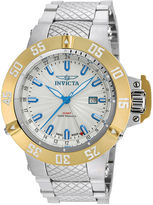 Invicta Subaqua Mens Two-Tone Stainless Steel Bracelet Watch