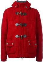 Bark duffle jacket - men - Polyamide/Polyester/Wool - XS
