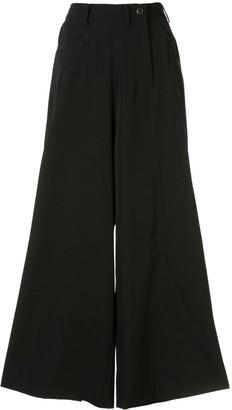 Yohji Yamamoto Asymmetric Palazzo Trousers