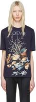 Loewe Indigo Shell Still Life T-shirt