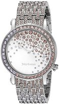 Juicy Couture Women's 1901347 Analog Display Quartz Silver Watch