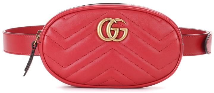835c69426aec Gucci Marmont Belt Bag - ShopStyle