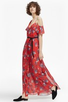 French Connection Kioa Drape Strappy Maxi Dress