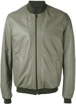 Etro - reversible bomber jacket - men - Cotton/Leather - L