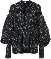 Rosie Assoulin swash buckler blouse