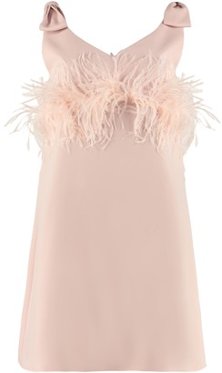 P.A.R.O.S.H. Feather Dress