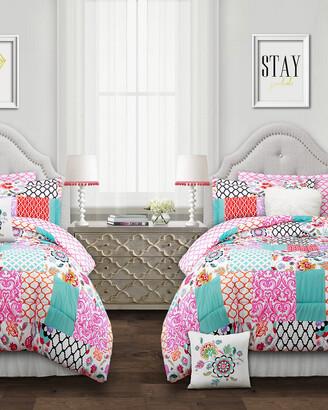 Triangle Home Fashion Fashions 5Pc Brookdale Twin Xl Comforter Set