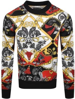 Versace Logo Sweatshirt Red