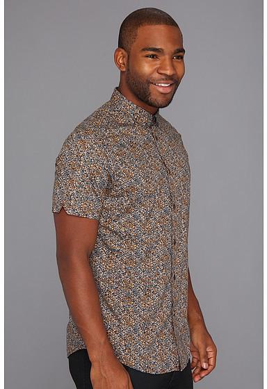 Ben Sherman S/S Floral Print Shirt