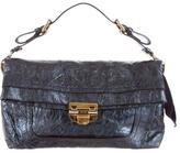 Nina Ricci Metallic Wrinkled Leather Pochette
