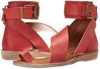 Free People Vale Boot Sandal (Red) Women's Shoes