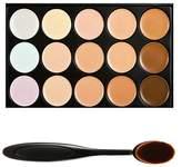 Boolavard TM 15 Shades Colour Concealer Makeup Palette Kit