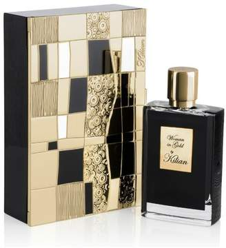 Kilian Woman In Gold 50Ml Refillable Spray And Coffret