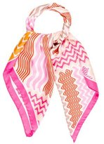 Missoni Chevron Silk Scarf