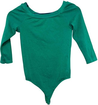 Wolford Green Cotton Top for Women